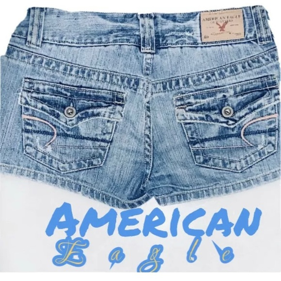 SOLD.  AE Jeans Shorts